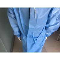 Quality Waterproof Disposable Isolation Gown For Asbestos Removal / Automotive Cleaning for sale