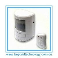 China 130 Decibel Siren Wireless PIR Motion Sensor Alarm With Remote Control on sale