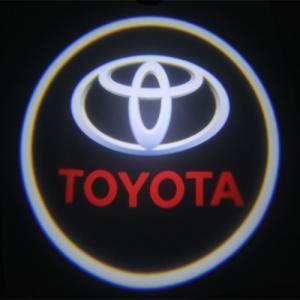Quality Toyota car accessories led Door Projector Lights car emblem toyota badge door light for sale