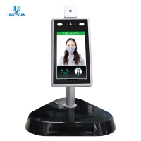 Buy cheap 50000 Faces Storage Face Recognition 0.4m Non-Contact Temperature Measurement from wholesalers
