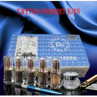 Quality Hot sale Semi-permanent makeup tattoo pigment kits for sale