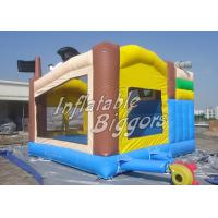 China PVC Vinyl Pirate Inflatable Slide Combo / Commercial Bouncing Houses For Kids on sale