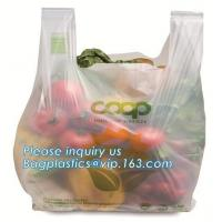 China Embossed Food Waste Caddy Liner Compostable Garbage Bags, biodegradable compost food grade plastic bags on sale