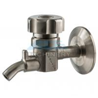 Quality Sanitary Stainless Steel Sample Valve with Tri Clamp Ends Perlick Sample Valve for Beer Brewery for sale
