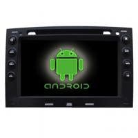 Quality Renault Megane In dash touch screen car dvd player with Android system wifi radio gps radio Factory for sale