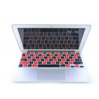 Quality Black Red Silicone Laptop Keyboard Protective Film For iPad Air / iPad 5 for sale