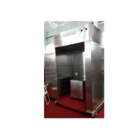 Quality High Cleanliness Vertical Air Flow Cosmetic Industry SUS 304 Dispensing Booth for sale