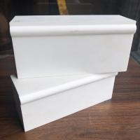 Quality China refractory bricks supplier white corundum brick with good quality for sale