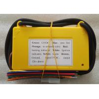 China Yellow Industrial Electric Pulse Igniter Ignition KINGRAY F103 - 12VY 0.4 Kg on sale
