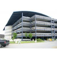 China H Steel Frame Car Parking Shade Structure , Residential Covered Parking Structures on sale