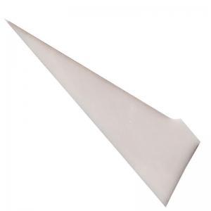 Quality Zirconia ZrO2 ceramic knife blade slitting cutting blade paper cutting blade triangle tip blade for sale