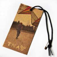 Quality Recycled Craft Paper Clothing Hang Tags With Cotton String For Cow Boy Jeans for sale