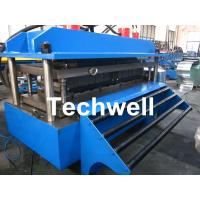 Quality Polyurethane Sandwich Panel Production Line For Color Steel With PLC Touch Screen Control for sale
