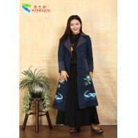 Quality 100% Cotton Chinese Embroidered Winter Coats Traditional China National Costume for sale