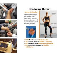 Best Physiotherapy Equipments 22Hz Frequency  Shockwave Therapy Machine Knee Pain Relief wholesale