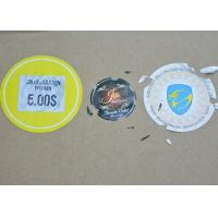 Quality Custom Destructive Blank Eggshell Stickers Label Adhesive Fragile Label Seal for sale