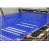 Buy cheap Cyrstal Blue Quartz Stone Slabs from wholesalers