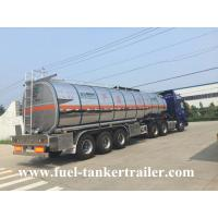 3 Axles 40,000 - 60,000 liters petrol tank trailer / fuel tank truck trailer
