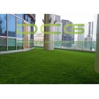 Quality Extremely Soft Fake Green Artificial Grass Rug Natural Appearance Free Maintenance for sale