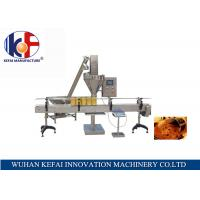 Buy PLC and touch screen control table manual abc dry powder filling machine at wholesale prices