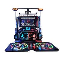 Quality Fiberglass VR Dance Game 1100*1580*1200mm Multiplayer For Theme Park for sale