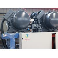 Quality Blast Freezer Screw Water Cooled Chiller System With Oil Separator for sale
