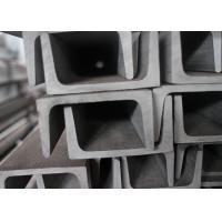 Quality SS304 SS201 Channel Stainless Steel , Heat Resistant U Channel Steel for sale