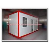 Quality Moveable Prefabricated Steel Modular Container House with Sandwich Roof & Wall Panels for sale