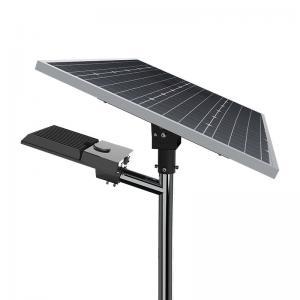 Quality MPPT 100w IP66 Solar LED Street Light Mono Crystalline Time Control for sale
