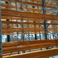 Quality American Type VNA Racking System Cold Room Pallet Storage   Electrostatic Powder Coating for sale