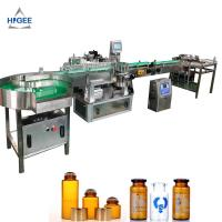 Quality Automatic Round Tube sticker Wrap Around Small bottle labeling machine and glass bottle labeller for sale