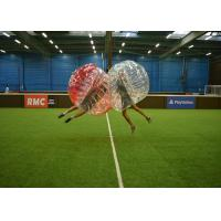 China High Tensile Strength Inflatable Bubble Soccer Customize Size International Standard on sale