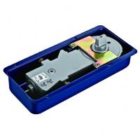 Quality Floor Hinge T-220B, color:black or blue, casting iron,  weight capacity 90kgs, for sale