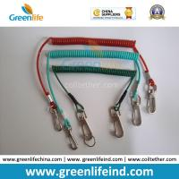 Buy cheap Muti-Colors Plastic Retention Rope Chain w/Snap Big Hook Security Stretch Tool from wholesalers
