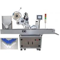 Quality 10ml Small bottle labeling machine with PLC operation , penicillin label sticker machine for pharmaceuticals for sale