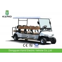 Quality Wholesale Price 8 Persons Electric Golf Carts Street Legal With Deep Cup Holders for sale
