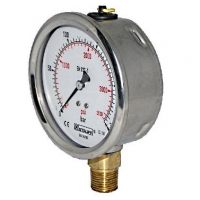 Quality Stainless Steel Case Industrial Pressure Gauge for sale