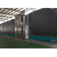 China Low E Insulating Glass Production Line Frequency Control With 6 Soft Hair Brushes on sale