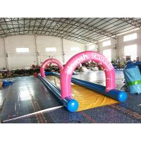 China Air Sealed Mini Inflatable Slide For Backyard , Inflatable Water Slide For Kids on sale