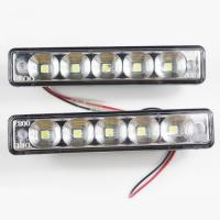 Quality Waterproof 3W DRL White LED Day Running Lights , Universal Model for sale