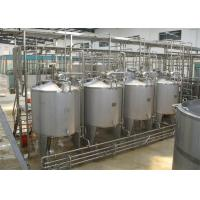 Quality 20T/H Concentrated Juice Machine For Three Effect Evaporator for sale