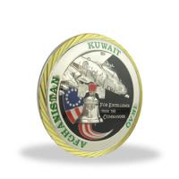 Quality Stamping Engraved Collectible Souvenir Coins Single Side For Anniversary for sale
