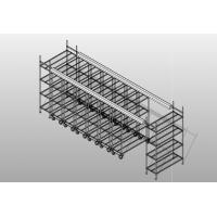 Quality FDA High Density Storage System / Heavy - Duty NSF Standard Rolling Shelving System Forfood Service for sale