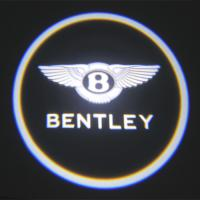 Quality Luxury Car door logo light bentley emblem 3W car led door projector lights for sale