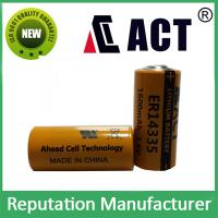 Buy cheap ER14335 2/3AA Li-Socl2 Lithium Battery 3.6V from wholesalers