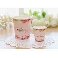 Multiple Size Single Wall Paper Cups For Cold Hot Drinks With Food Safe Inks