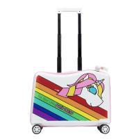 Quality NHL021-6 Nohoo PC children trolley case scooter hard case cartoon luggage 20 inch for sale
