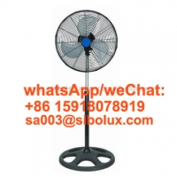 """Quality 18"""" Electric Standing Fan with holes base for office and home appliances/AC Power Source/ Ventilador De Pie for sale"""