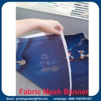Quality Fabric Outdoor Mesh Banners Sign Fence Wrap for sale