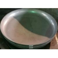 Quality ISO9001 Head Forming Process Stainless Alloy Steel Welding Welded Pipe Dish End Cap for sale